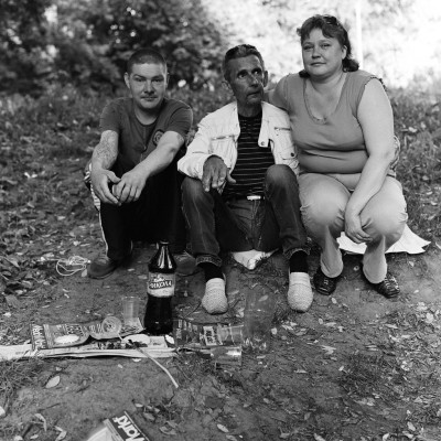 Andrey with friends. From the series Lost Paradise